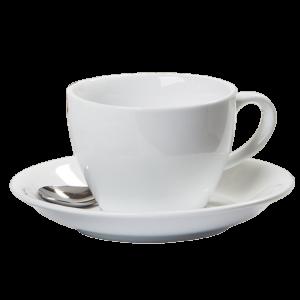 Kaffekop med underkop