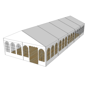 Telt 6×15 m