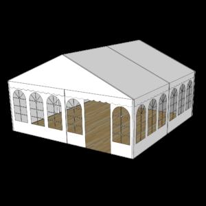 Telt 6×6 m