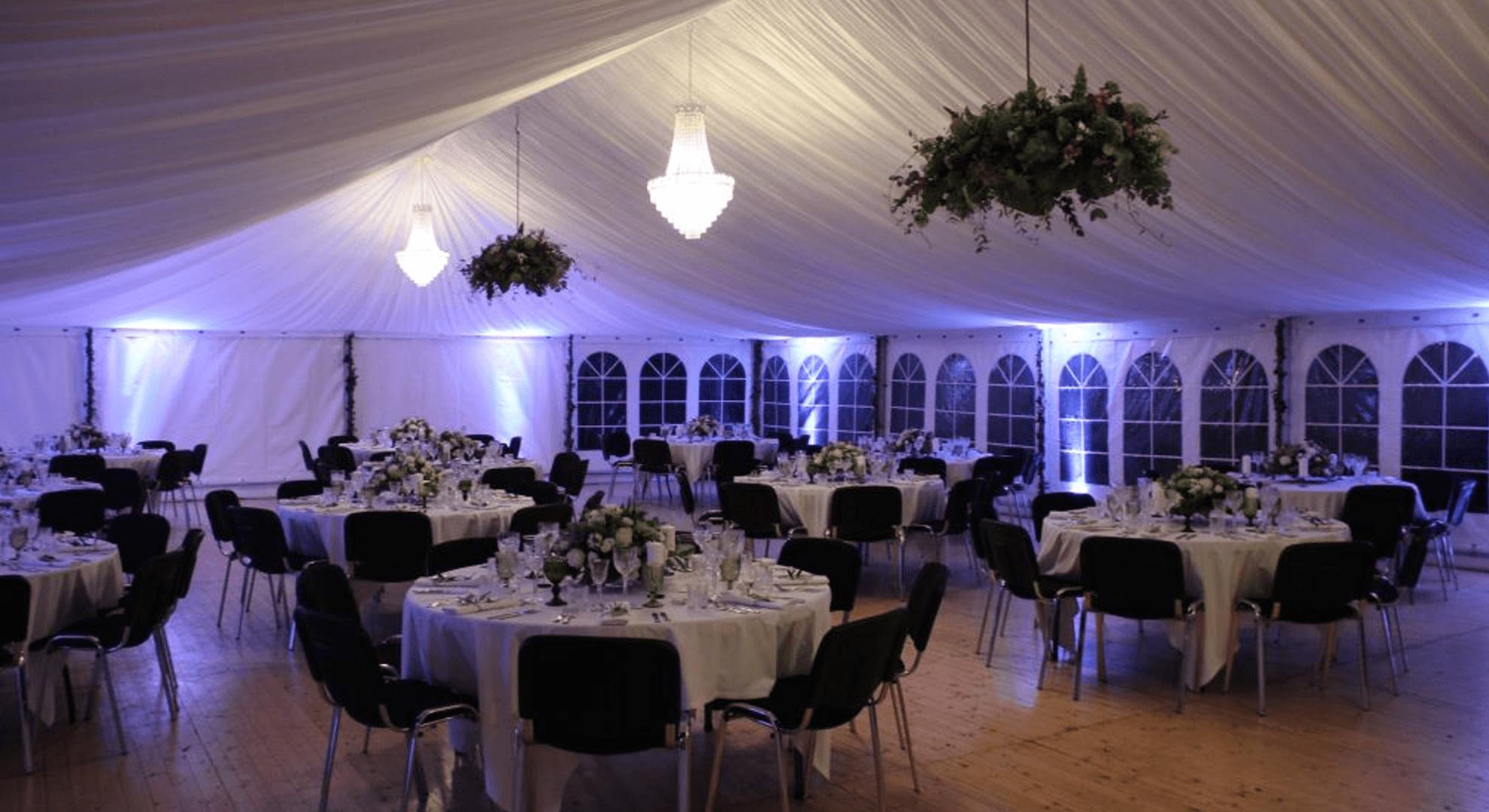 12 m telt innerline bryllup galleri