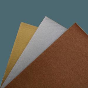 Textil servietter kobber, sølv, guld