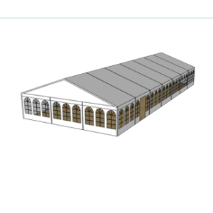 Telt 9×21 m
