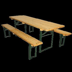 Borde/bænkesæt bredt bord