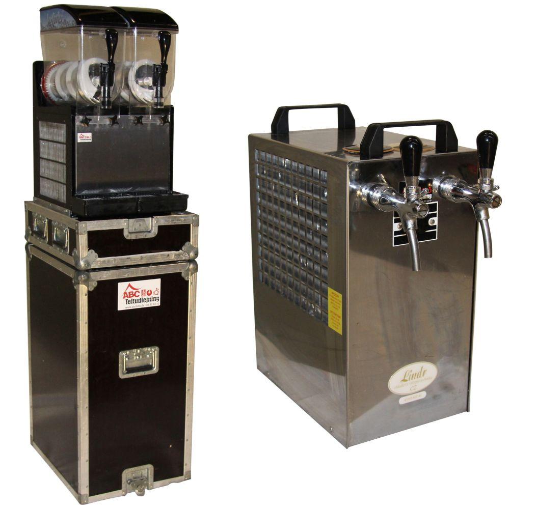Leje af fadølsanlæg & slushice-maskiner