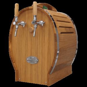 Fadølsanlæg – dobbelt- træ